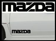 MAZDA CAR BODY DECALS